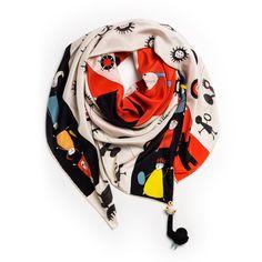 OGGUSTOLimited Edition ipek eşarplar ilhamını Şamanizm'den alıyor. 50 limitli olan ve Rumisu tarafından tasarlanan bu eşarplar 430 TL // Limited Edition silk scarves are inspired by Shamanism.