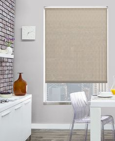 Solar shades are energy efficient window shades that absorb heat, block UV rays, reduce glare, and preserve your view. Custom solar shades are the most popular shades we offer as they are minimal & modern looking, highly practical, and extremely affordable.