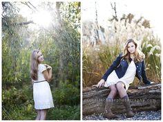 Senior photography girls posing