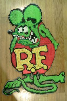 "Rat Fink by artist Ed ""Big Daddy"" Roth"