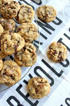 Wicked sweet kitchen: KitKat cookies