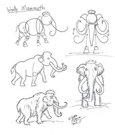 Draw a Woolly Mammoth by Diana-Huang