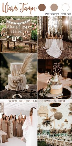 20 Fall Neutral Taupe and Greenery Wedding Color Ideas rustic bohemian fall taupe wedding color ideas Country Wedding Colors, Elegant Wedding Colors, Taupe Wedding, Fall Wedding Colors, Wedding Color Schemes, Rustic Wedding, Wedding Flowers, Neutral Color Wedding, Green Wedding