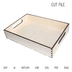 DXF files for laser Tray with inset on 2 tiles Paul - Vector projects for laser cutting, cnc Cut Vector, Plywood or MDF 6 mm Vinyl Cutting, Laser Cutting, Cnc, Laser Cut Plywood, Laser Cut Box, Kitchen Decor Items, Wood Shadow Box, Laser Cut Files, Decorative Tile