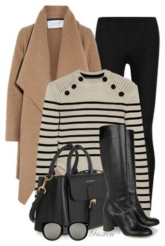 fall by stacy-gustin on Polyvore featuring Isabel Marant, Harris Wharf London, Donna Karan, Chloé, Burberry, Karen Walker and ootd