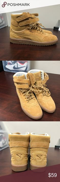 PUMA Sky II Hi Winterized Sneaker boots NWOT Brand New, Never worn, only tried on inside. replacement box included. Puma Shoes Boots
