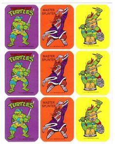 Este listado está para 1 hoja de pegatinas vintage por Artis (un div.of el grupo de magia de papel) Hoja fecha 1989, hecho en los Estados Unidos.  Se procede en excelente estado de colección.  Mide aprox. 4,5 x 5,75  ¿Como las Tortugas Ninja? Revisa nuestros otros artículos con ellos aquí: https://www.etsy.com/shop/CollectorsWarehouse/search?search_query=teenage+mutant+ninja+turtles&order=date_desc&view_type=list&ref=shop_search  Todos los artículos se describen lo mejor de mi conocimiento…