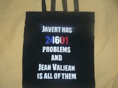 Les Mis tote bag by MakeYourselfGeeky on Etsy