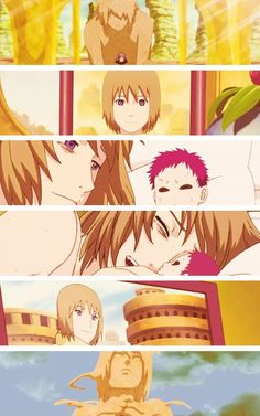 ~~ Gaara and his mother .