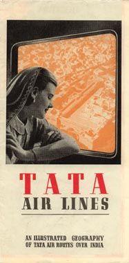 Tata Air Lines' Airline october 1939