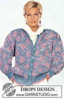 DROPS jakke i Macao med nordisk mønster i Vienna. ~ DROPS Design