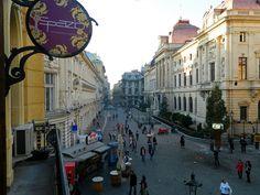 Bucharest old city centre. Romania Travel, Bucharest, City Break, Old City, Eastern Europe, Centre, Wanderlust, Street View, Places