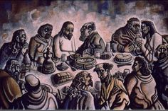 'Last-Supper' by Carl Abrahams.