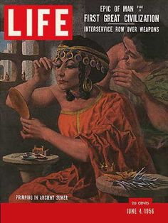 """Civilization - Original Life Magazine from  June 4, 1956 - Visit http://www.oldlifemagazines.com/the-1950s/1956/june-04-1956-life-magazine.html to purchase this issue of Life Magazine. Enter """"pinterest"""" for a 12% discount at checkout - Civilization"""