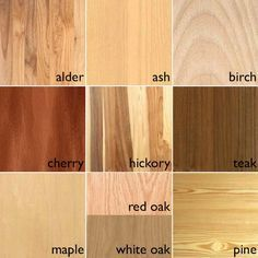 types of wood grain - Google Search