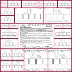 """Recursos para el aula: El libro de trabajo para practicar la lectoescritura con Mayúsculas y Minúsculas. Encontramos este fantástico recurso en picasa """"Esp"""