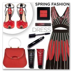 """""""Can you tell it's Spring?"""" by mood-chic ❤ liked on Polyvore featuring M Missoni, Charlotte Olympia, Bobbi Brown Cosmetics and springdress"""