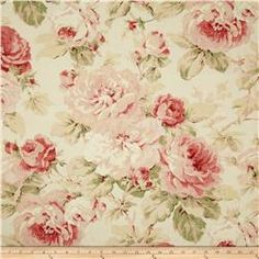 Richloom Queen Floral Tearose