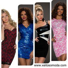 Compra en España de vestidos economicos, moda mujer, ropa para chicas www.xeitosomoda.com