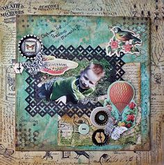 Mixed Media Canvas Tutorial by Carla Marchee April 2013