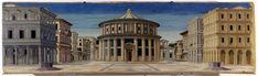 Formerly Piero della Francesca - Ideal City - Galleria Nazionale delle Marche Urbino 2 - Cité idéale — Wikipédia