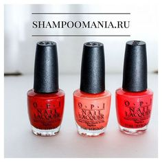 opi pretty red colours