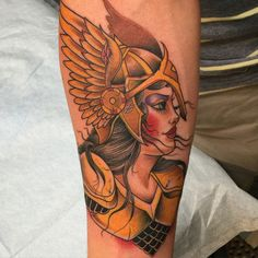 Traditional Tattoo by Obed Valkyrie