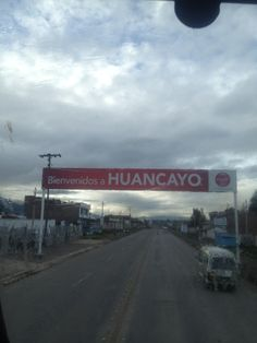 Where I'll be spending my summer! Huancayo, Peru