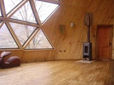 Geodesic Dome Homes, Dome House, Construction, Glamping, My Dream Home, Building A House, Sweet Home, House Design, Cabin