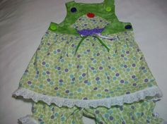 Baby Girl Summer Clothes  Baby girl sun dress by PeaPodLilFrogs, $26.50