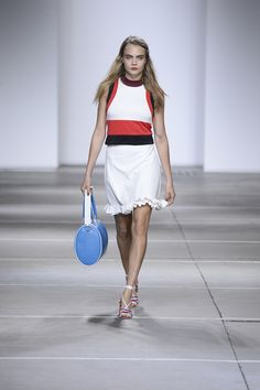 Topshop Unique SS15 catwalk at LFW. Watch the show on demand. #TopshopUnique #LFW #SS15 #CaraDelevingne
