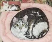 Your Pet Painted On a Rock or Stone - follow link:    http://petarock.homestead.com/Galleries_Dog_Cat_Other.html#