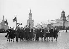 Утром 9 мая 1945 года на Красной площади