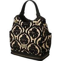 """petunia pickle bottom """"cake"""" diaper bag...I love this diaper bag. I use it as my diaper bag and purse for now. No need to carry both."""