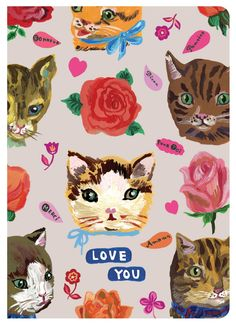 Let that special someone know how much you love them with this lovely greeting card featuring the delightful artwork of Nathalie Lete - Features artwork by Nathalie Lete - Bi-Fold - Includes matching
