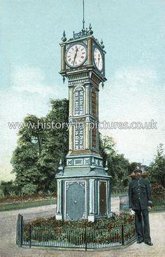 The Clock Tower, Brockwell Park, Brixton, London. c.1908