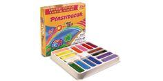 Caja sp 352 ceras plasticas plastidecor 16 colores x 24uds