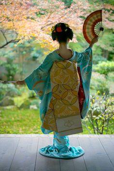 Japanese Kimono. Kimono traditionnel au Japon. #kimono, #japon, #tradition.