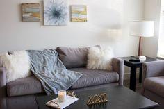 Living room decor | Au Courant Life