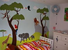 jungle-theme-bedroom