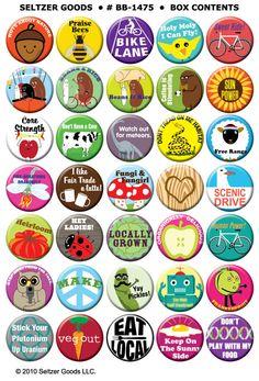 Buttons - Badges - Chapas - Chapitas