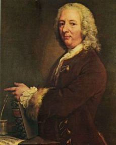 Francesco Geminiani, an Italian-born violinist who lived and worked in London. In 1715 Geminiani played his violin concerti for the court of George I, with Handel at the keyboard.