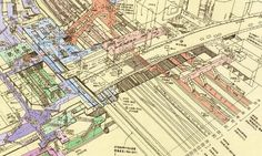 Illustrated Cross-Sections of Major Train Stations in Tokyo by Tomoyuki Tanaka | Spoon & Tamago