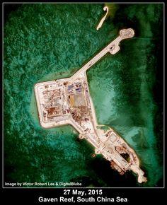 Gaven Reef, Spratly Islands, South China Sea. Image: Victor Robert Lee.