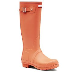Womens Hunter Original Tall Winter Wellington Snow Muck Yard Rain Boots  Sunset  7 ** For more information, visit image link.