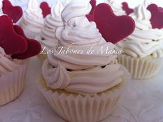 Jabón Cupcake hecho a mano con Aroma de Anís.