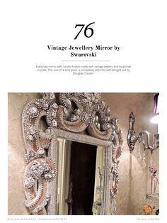 """""""Зеркало может быть определяющим элементом в декоре комнаты! Luxxuhas подготовил эту книгу, которая покажет вам последние тенденции и лучшие советы по настенным зеркалам, в которых будут представлены произведения от крупнейших дизайнеров и дизайнерских брендов в мире, таких как Jonthan Adler или Boca do Lobo. """""""