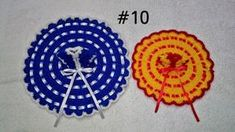 How to Crochet Beautiful dress of 2 and 5 no. Kanha Ji How to Crochet Beautiful dress of Kanha Ji Ladoo Gopal How to crochet choli for 2 and 3 no. How to crochet choli for 5 no. How to make kinari of Crochet Designs, Crochet Patterns, Laddu Gopal Dresses, Little Krishna, Bal Gopal, Ladoo Gopal, Woolen Dresses, Silk Saree Blouse Designs, Dot Art Painting