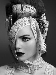 Model - Ida N @ 2pm. Photography - Jonas Jensen. Mua & Hair - Soren Hedegaard. S)
