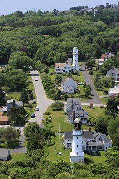 Two Lights Lighthouse, Cape Elisabeth, Maine